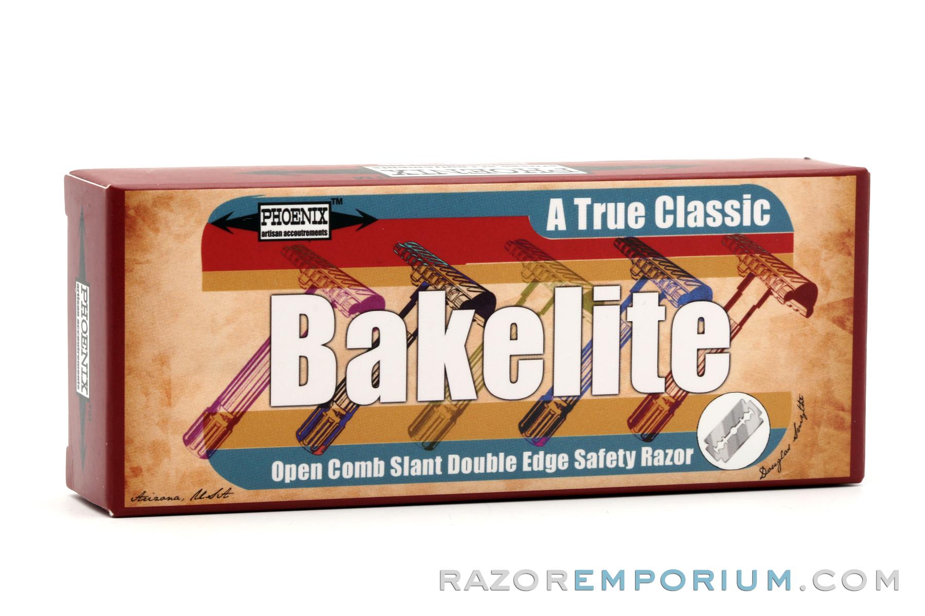 Slant Safety Razor Bakelite